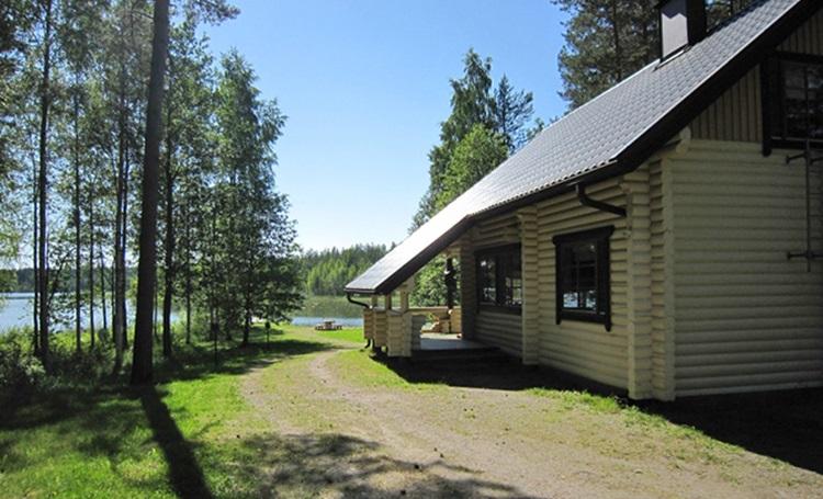 недорогая рыбалка и отдых в финляндии