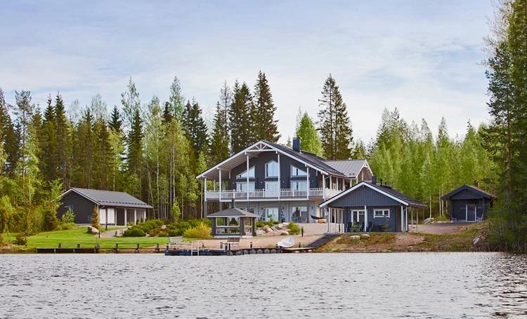 Стоимость коттеджа в финляндии дом на берегу моря