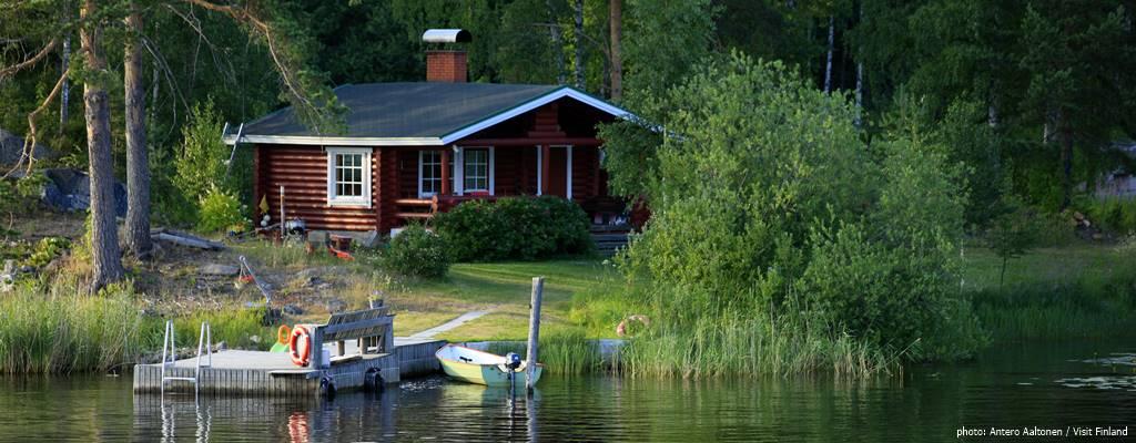 Коттеджи в финляндии купить на берегу озера майорка аренда вилл